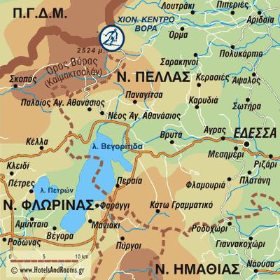Καϊμακτσαλάν Χιονοδρομικό Κέντρο